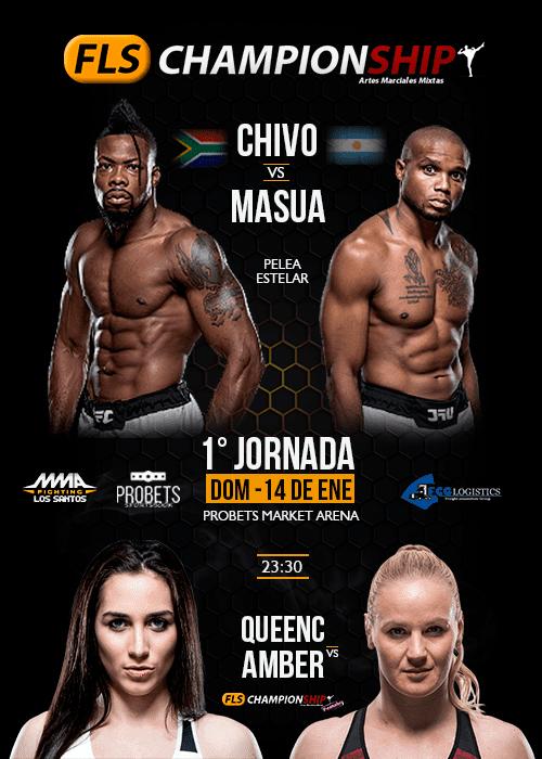 MMA-FLS - FLS Championship - 1ª Jornada
